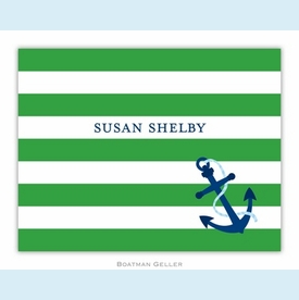 Stripe Anchor Folded Notes (set/25) - click to enlarge