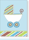 Striped Blue Buggy Notes
