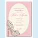 Stunning Shoe Invitation - click to enlarge