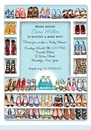 Stylish Shoe Closet Invitation (Baby Boy)
