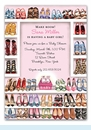 Stylish Shoe Closet Invitation (Baby Girl)