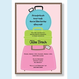 Suitcase Stack Invitation - click to enlarge
