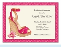 Summer Sandal Invitation