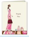 Swirl Bride Thank You Notes