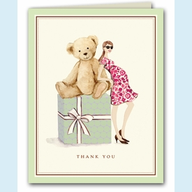 Teddy Bear Thank You Notes - click to enlarge