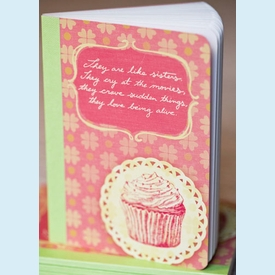 """""""They are like sisters..."""" Mini Notebook - click to enlarge"""