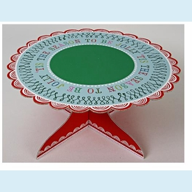 Tis the Season Cake Stand - click to enlarge