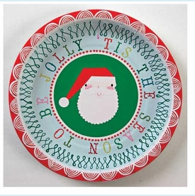 Tis the Season Small Party Plate - click to enlarge