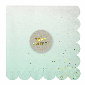 Toot Sweet Ombre Large Napkins - click to enlarge