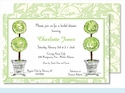Topiaries Large Flat Invitation