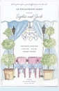 Topiary Tent Invitation