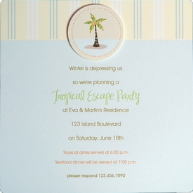 Tropical Escape Invitation - click to enlarge