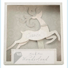 V & A Reindeer Place Cards - click to enlarge