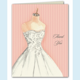 Vintage Dress Form Thank You Notes - click to enlarge