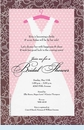 Vintage Dress Invitation