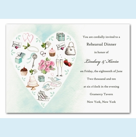 Wedding Style Invitation - click to enlarge