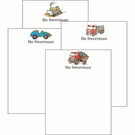 Wheels Cute Collections Notepad Set - click to enlarge