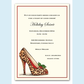 Wild Holiday Invitation - click to enlarge