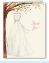 Wonderful Wedding Dress Thank You Notes