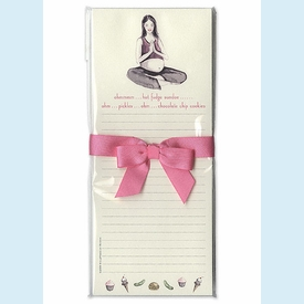 Yoga Mom List Pad - click to enlarge