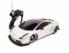 1/10 Scale Lamborghini Gallardo RC (Remote Control) Car W/Chrome Rims