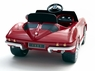 12 Volt 1960's Classic Corvette Ride On Car Convertible W/Stereo