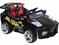 Magic Cars� Big Remote Control Lamborghini Aventador Batmobile Style 12 Volt 2 Seater Ride On Car