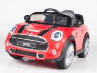 Magic Cars® Mini Cooper Ride On Remote Control RC Car For Kids W/MP3 Stereo