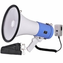 "9"" 50 Watt Megaphone Recording Bullhorn Loud Speaker"
