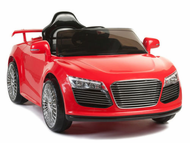 Magic Cars� Audi Roadster R8 Style Electric RC Ride On Car 12 Volt For Kids W/Remote Control