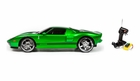 Big Hyper Green Ford GT Remote Control Car W/Headlights