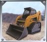 Bobcat Bulldozer Remote Control Construction Front Loader W/Treads