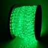 Christmas Lighting LED Rope Light 150ft Green w/ Connector