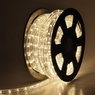 Christmas Lighting LED Rope Light 50ft White I w/ Connector
