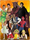 Halloween Costumes & Movie Theater Prop Toys For Children To Adults