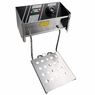 Home Dual Basket Stainless Steel Electric Countertop Deep Fryer