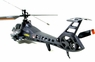 Easy To Fly Apache RC (Remote Control) Helicopter 4 Channel - Ready To Fly W/Rockets