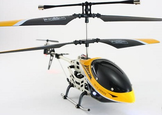 Easy To Fly Super Hawk 3 Metal RC Helicopter 107 USB W/Gyro Stabilizer As Seen On TV
