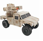 Electric RC Hummer Jeep Working Cannon Black Ops Truck - 4 People Can Play