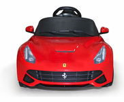 Magic Cars� Ferrari Ride On Battery Powered RC Car W/Keys & Mat