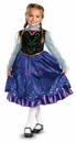 Frozen Anna Disney Child Costume Size 3T-4T