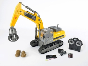 Premium Grabber Crane Remote Control (RC) Construction Vehicle Hobby