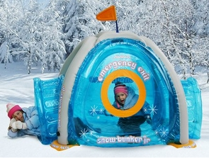 Inflatable Igloo Snow Fort Winter Toy