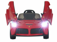 Magic Cars� LaFerrari Ride On 12 Volt Kid's Ferrari RC Ride On Remote Control Car