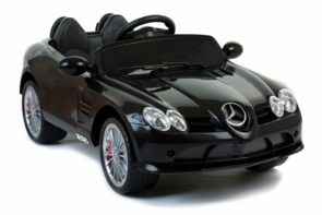Magic Cars� 12 Volt SLR Mercedes Benz Ride On RC Car For Kids W/MP3 & Bluetooth