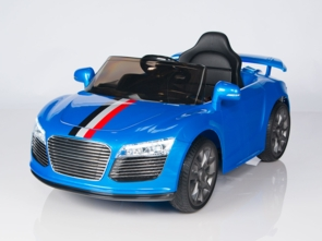 Magic Cars® Audi R8 Roadster Style  Electric RC Ride On Car 12 Volt For Kids W/Remote Control