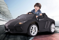 Magic Cars® Kids RC Ride On 12 Volt Black Lamborghini Aventador Car
