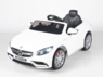 Magic Cars® Mercedes S63 AMG Convertible Ride On RC W/Leather Seat