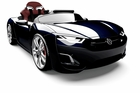 SUPER SALE Magic Cars� Supreme Dream RC Ride On Smart Car W/Computer