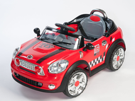 Magic Cars� Twin Electric Mini Cooper Ride On Remote Control RC Car For Kids